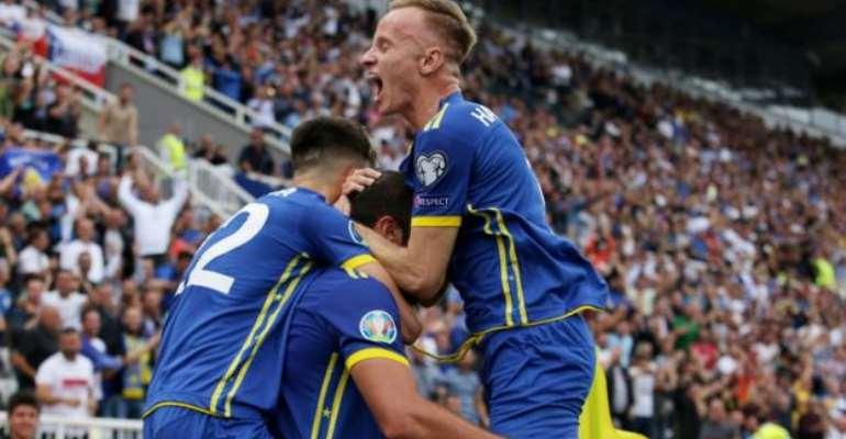 Kosovo Beat Czech Republic To Boost Euro 2020 Dream