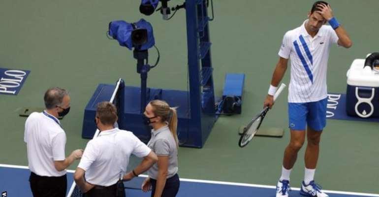 Novak Djokovic (right) was on a run of 26 matches unbeaten