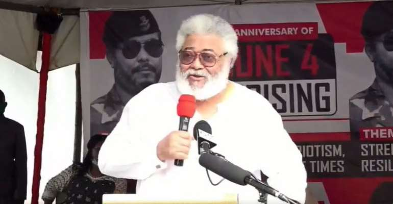 Rawlings Missing At NDC Manifesto Launch