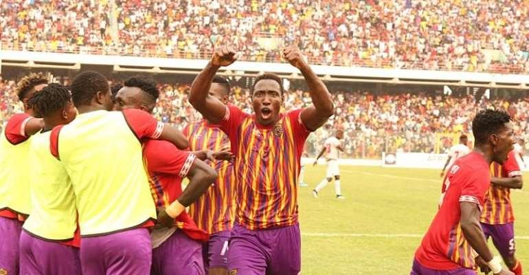 Kofi Kordzi celebrates
