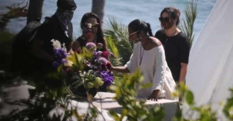 Michael B. Jordan, Lupita Nyong'o, Others Flock Chadwick Boseman's Memorial