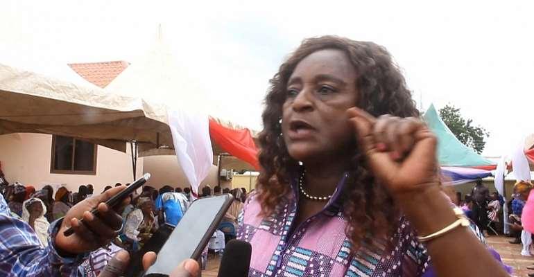 Madam Gabiana Agbanwaa Bugri NPP parliamentary for Bawku central