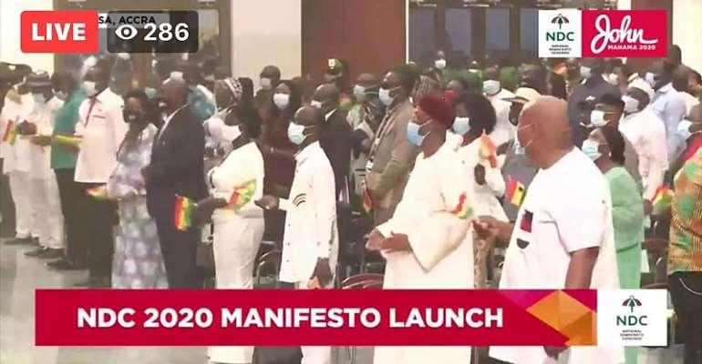 [Watch] NDC Launches 2020 Manifesto Tonight