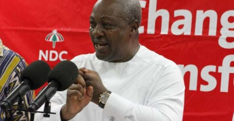 Mahama Promises Prosperity For All Ahead Of NDC 2020 Manifesto Launch Today