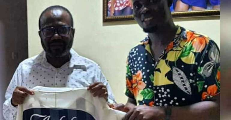 My first encounter with former GFA President, CAF Executive Member was a dream fulfilled — Bright Addae Foundation Manager
