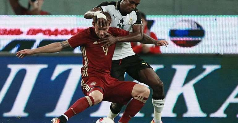 Avram Grant looks at positives in Ghana's defeat to Russia