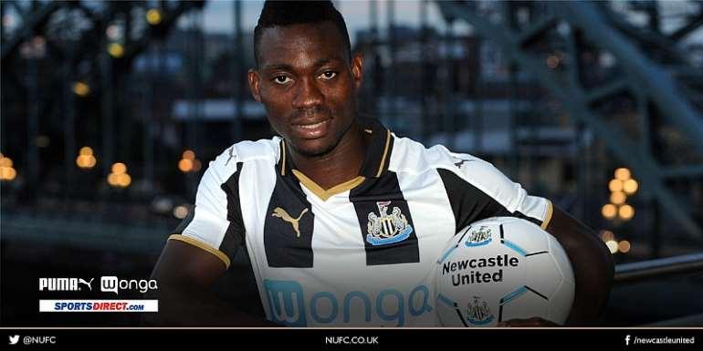 Christian Atsu to wear jersey NO 30 at Newcastle United