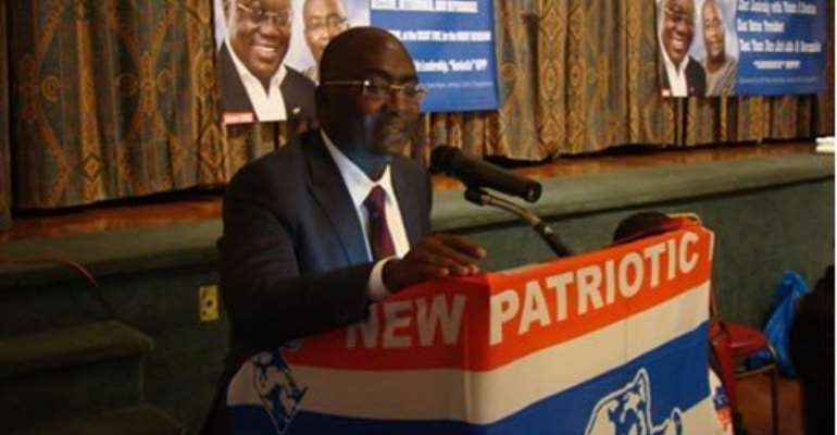 Live update: Dr Bawumia delivers lecture on Ghana's economy