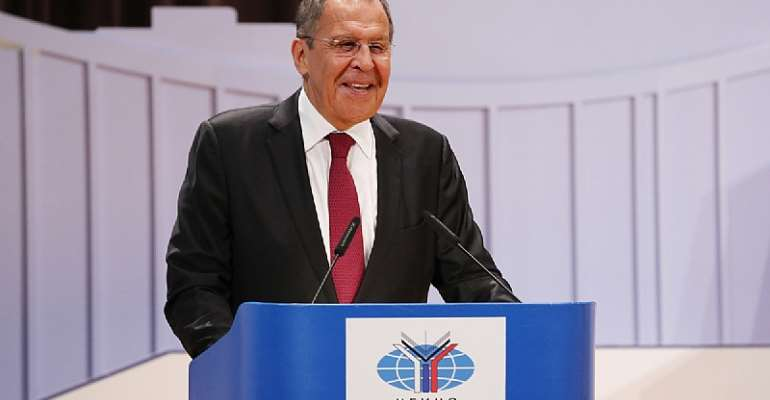 Foreign Affairs Minister Sergey Lavrov