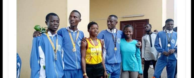 Amponsah And Azuure Top Millennium Marathon 2019
