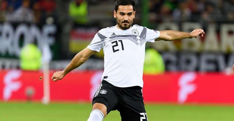 Gundogan To Miss Germany's Crunch Qualifier In Belfast