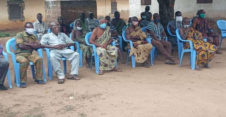 Adaklu NCCE Engages Adaklu Abuadi On Social Auditing