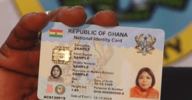 Ghana Card Mop-up Registration Ends In Accra Today