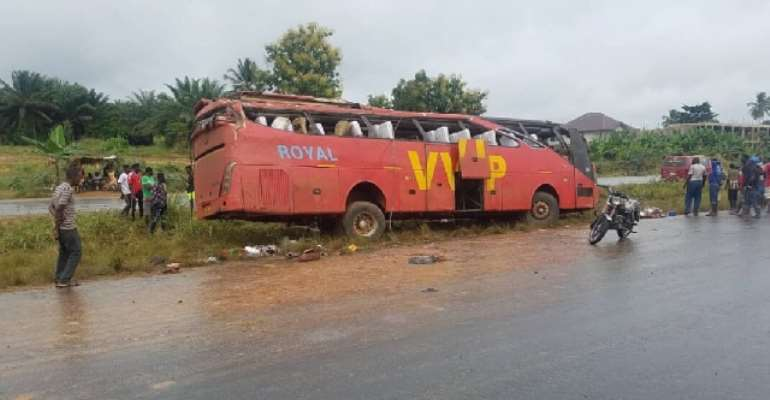 3 Dead, Others Injured In Suhum Accident