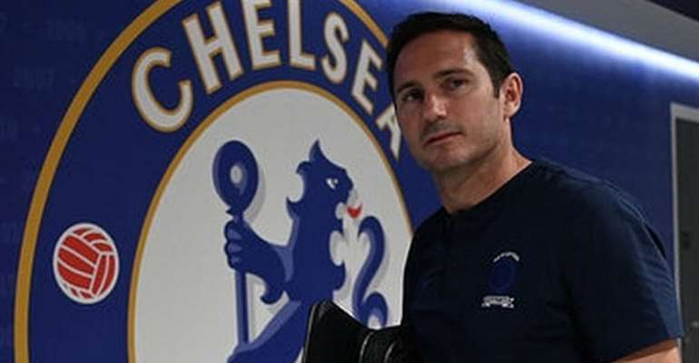 Chelsea boss, Frank Lampard