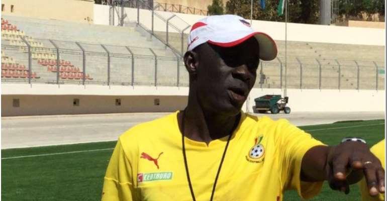 Black Starlets coach, Ben Fokuo