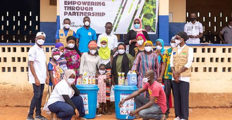 EU, Ink Ghana Support Kayaye In COVID19 Outreach