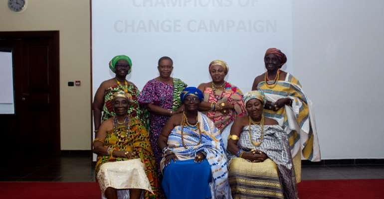 Ghana's First Lady Encourages Healthy Ghanaians To Become Champions Of Change And Donate Blood To Save Lives