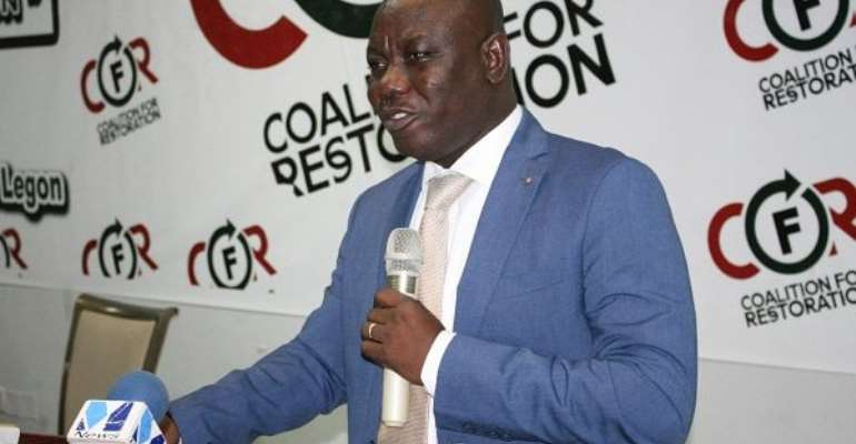 Member of Parliament (MP) for the Bolgatanga Central Constituency, Mr Isaac Adongo