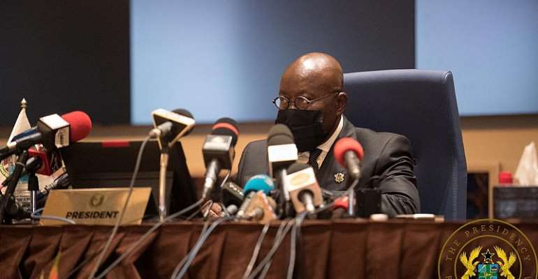 Akufo-Addo Thanks ECOWAS Leaders For His Election