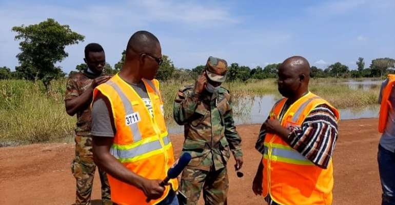 Savannah Region: Soldiers deployed to Daboya to assist in flood management