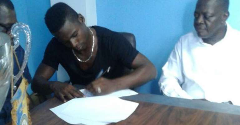 Ahmed Toure: I am looking forward to next season with so much excitement with Bechem United