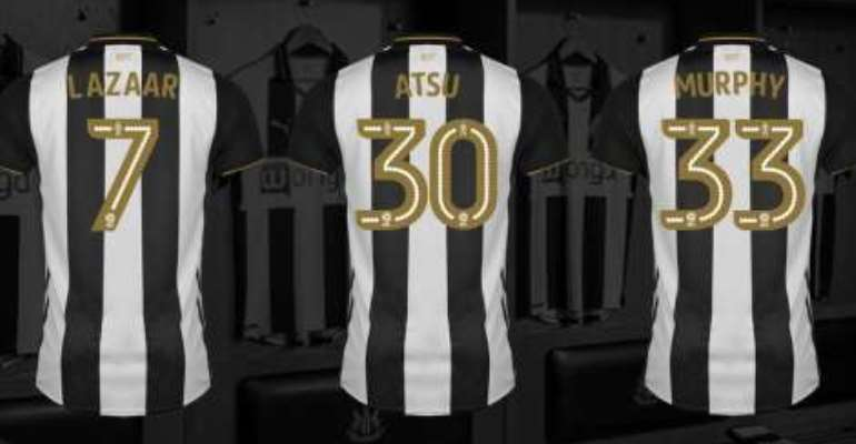 Christian Atsu: Black Stars winger handed No. 30 at Newcastle