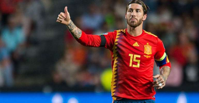 Ramos Makes History As Spain Soar