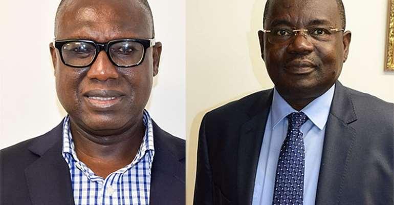 William Hutton Mensah – PDS Boss and Ing Samuel Boakye Appiah – ECG Boss