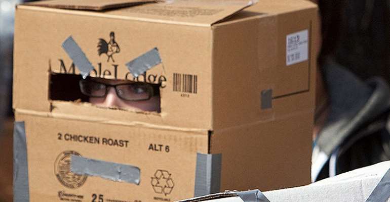 Students Forced To Wear Cardboard Boxes On Head To Curb Exam Cheating