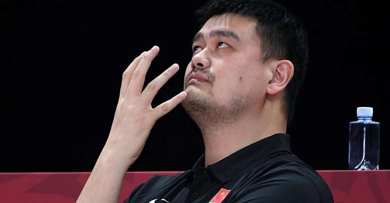 Ow! Yao takes blame for China's poor show at basketball world cup