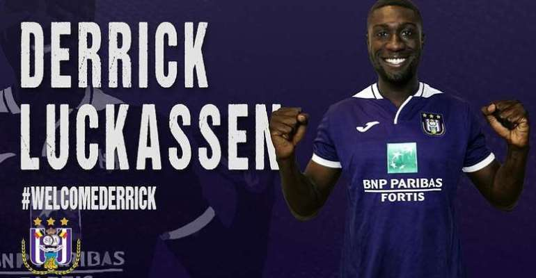 Am Happy At Anderlecht – On-Loan Derrick Luckassen Shares