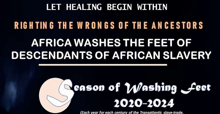 Righting The Wrongs Of The Ancestors: Africa Washes The Feet Of Descendants Of African Slavery
