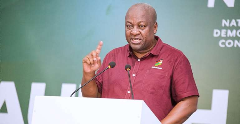 Mahama's Age And Death Analysis Is A Sign Of Desperation