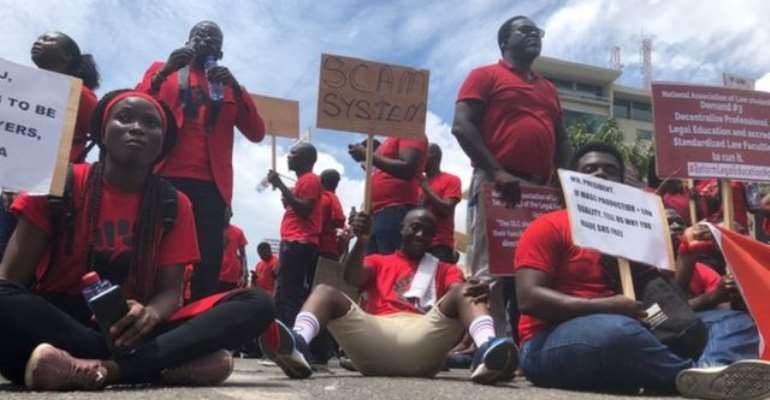 NDC More Caring About Legal Education Crisis Than NPP – Law Students