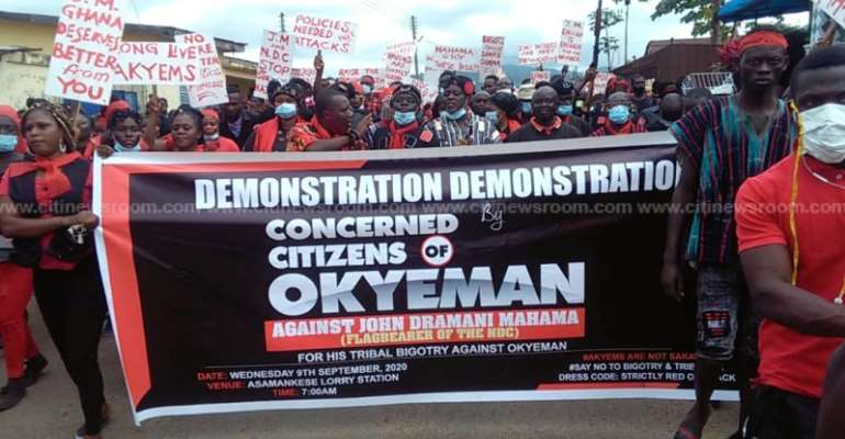 'Akyem Sakawa' Tag: You Have One-Week To Apologise Or We'll Ban You — Akyems To Mahama
