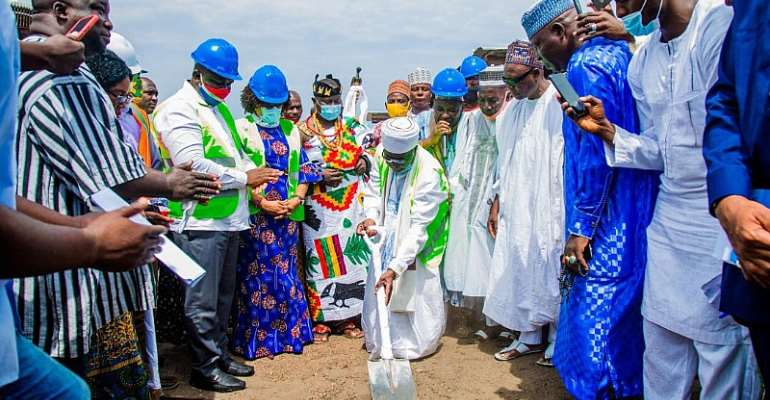 Ablekuma Sabon Zongo Gets Ultramodern Market From CODA