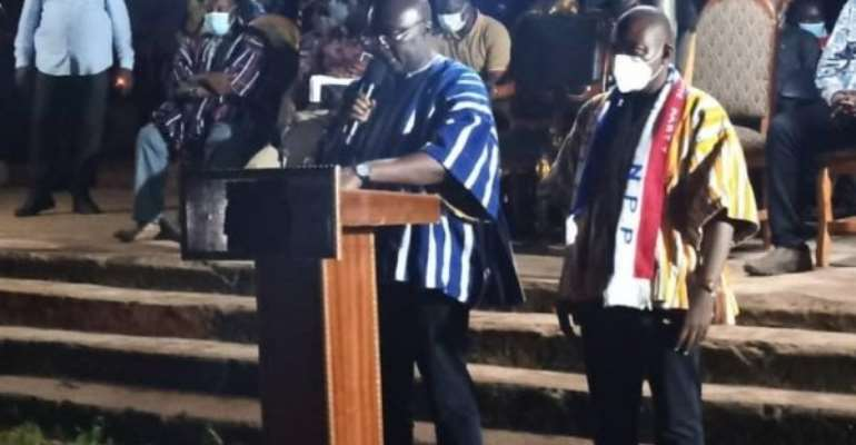 Make NPP An MP For The First Time In Daffiama-Bussie-Issa — Bawumia Pleads