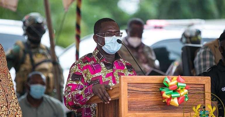 Akufo-Addo Cuts Sod For €15 Million Techiman Compost Plant