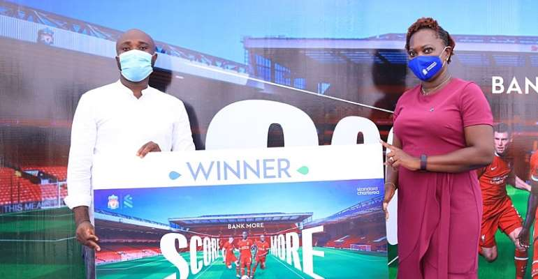 Standard Chartered Bank rewards winners for its Bank More Score More Campaign