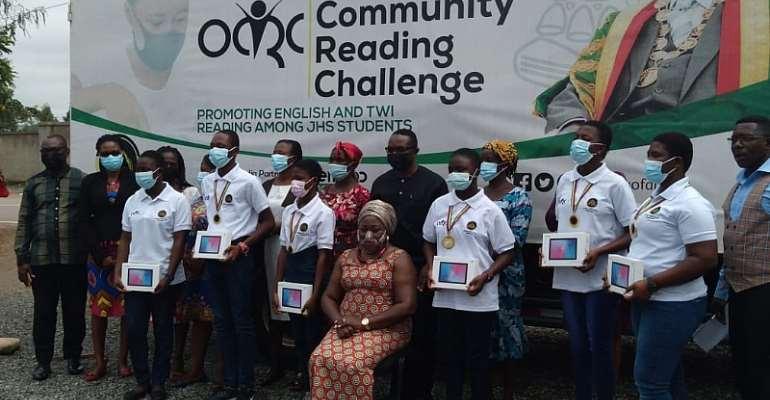 Asokwa MP donates tablets to brilliant students