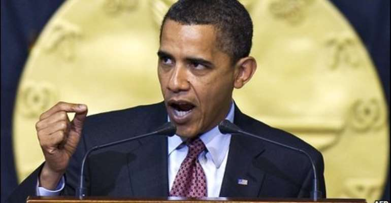 Key excerpts: Obama's Ghana speech
