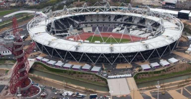 The 80,000 Olympic Stadium