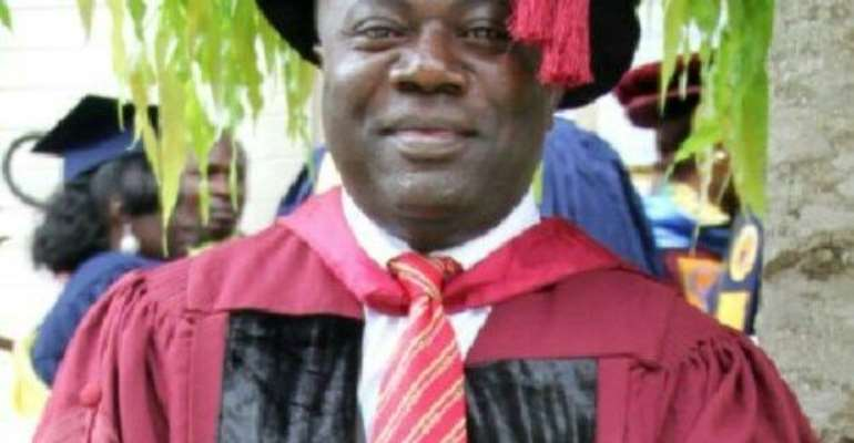 Takoradi Polytechnic Rector honoured