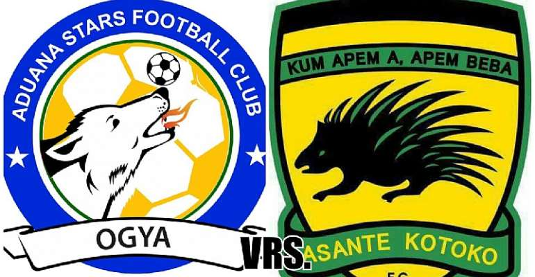 Final of Asante Kotoko vrs Aduana Stars