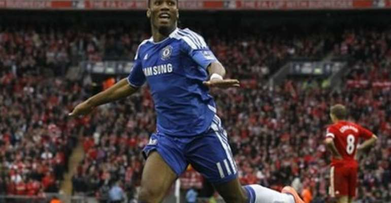 Didier Drogba has signed a two-year contract with Shanghai Shenhua.
