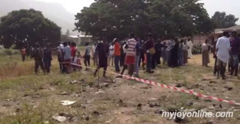 Koforidua Security mast: Parents threaten to withdraw wards from school