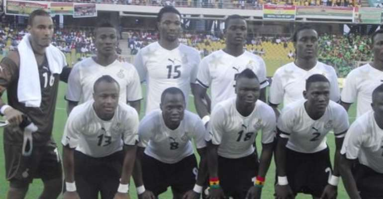 Ghana up four places in FIFA rankings