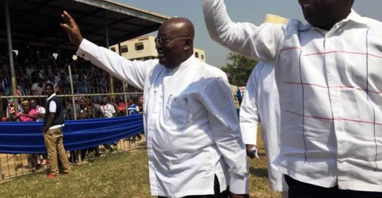 Let's put the past aside; this is our time; Akufo-Addo tells NPP delegates, supporters