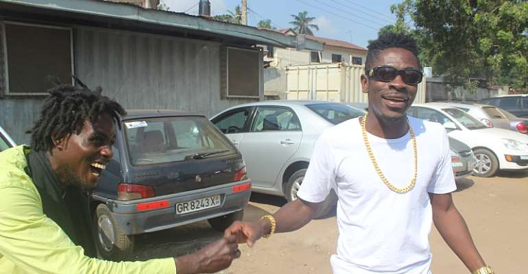 Shatta Wale Makes Peace With Masaany
